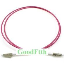 Волоконно Оптические соединительные шнуры перемычки LC LC OM4 Simplex GoodFtth 1 15m