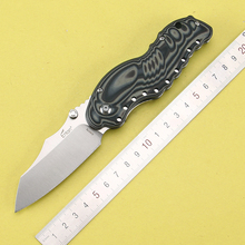 2016 New tactical folding knife hunting camping pocket knife 8Cr13MoV blade G10 handle survival utility knives EDC hand tools