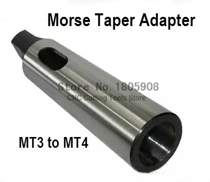 1 PCS MT3 to MT4 Morse Taper Adapter / Reducing Drill Sleeve , Morse Taper Sleeve,Machinery accessories