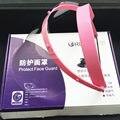 Dental Rosto Escudo Máscara + 10 Plástico Quadro Óculos Anti-nevoeiro óculos de Proteção Película Protetora-ROSA