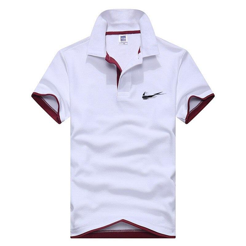 Polo   Shirt Men 2019 Brand New Men's   Polo   Shirt High Quality Men Cotton Short Sleeve Shirt Brands Jerseys Summer Men   Polo   Shirt