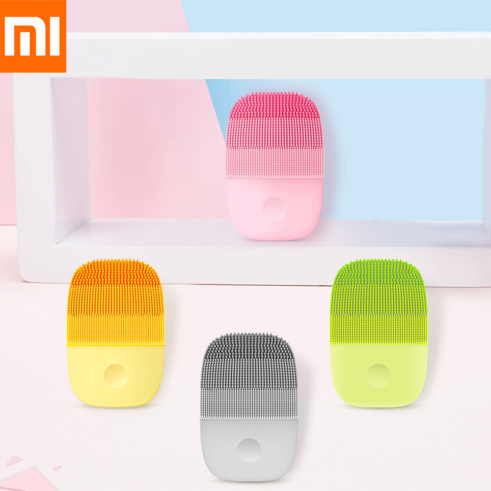 Xiaomi InFace IPX7 Waterproof Electric Deep Facial Cleaning Massage Brush Sonic Face Washing Silicone Face Cleanser Skin CareXiaomi InFace IPX7 Waterproof Electric Deep Facial Cleaning Massage Brush Sonic Face Washing Silicone Face Cleanser Skin Care