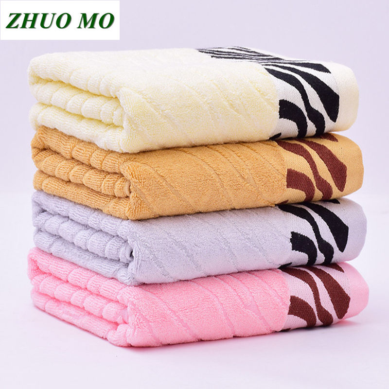 70 * 140cm Bamboo Fiber Bath Towel For Adults Sport Bathroom Outdoor Travel Soft Thick Super Absorbent Antibacterial Towels