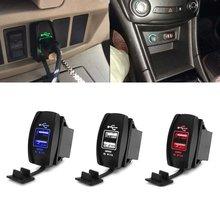 Универсальное автомобильное зарядное устройство 12 в 24 В постоянного