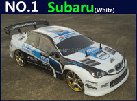 Large 1 10 RC Car High Speed Racing Car 2 4G Subaru 4 Wheel Drive Radio