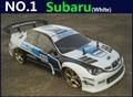 1:10 RC Carro de Corrida de Alta Velocidade Do Carro 2.4G Subaru 4 roda de Controle de Rádio de Carro Esporte Deriva Modelo de Carro de Corrida eletrônico brinquedo