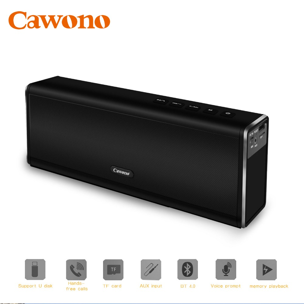 cawono bluetooth portable speaker super bass 20w aux wireless enceinte bluetooth 4000mah. Black Bedroom Furniture Sets. Home Design Ideas