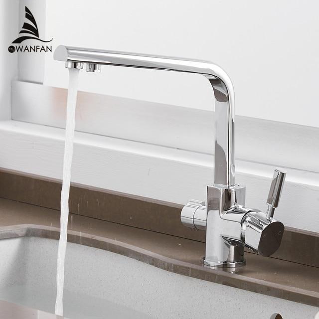 Robinets filtre à eau robinets de cuisine mélangeur en laiton cuisine potable purifier robinet évier de cuisine robinet d'eau robinet grue pour WF-0188 de cuisine