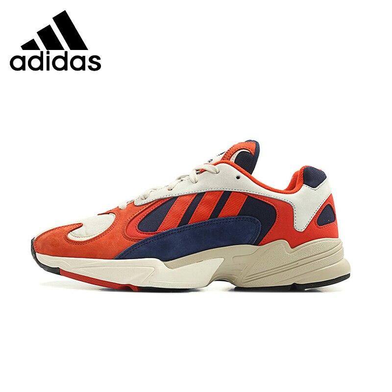 ADIDAS Yung-1 оригинальный Для мужчин s кроссовки дышащий стабильность Поддержка спортивные кроссовки для Мужская обувь # B37615