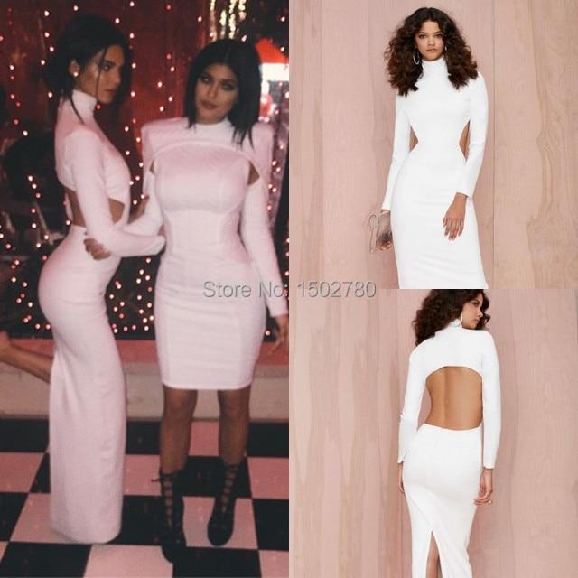 Kendall Jenner bei Kardashian Weihnachtsfeier stehkragen hinten ...