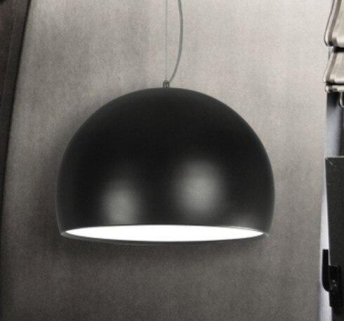 Simple Fashion new black white aluminum newest Semi-cirle weima pendant lamps personalized fashion brief Pendant Lights ZZP personalized 1 5heads black white