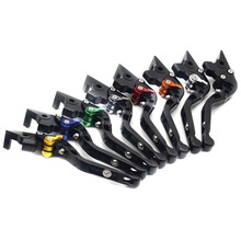 With FZ-07 Motorbike Motorcycle Folding Black Brake Clutch Levers For Yamaha MT07 MT 07 FZ FZ07 2014 2015 2016