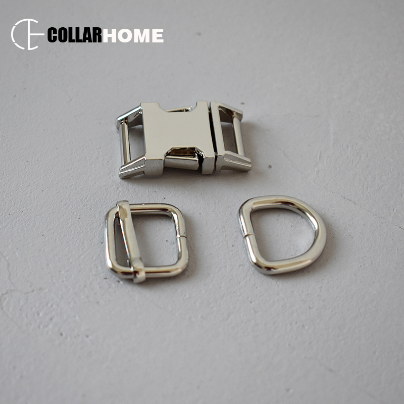 50sets Multicolor metal buckle 3 4 quot 20mm strong d ring for bag dog collar supplies DIY accessories adjusters sliders 4 colors in Buckles amp Hooks from Home amp Garden