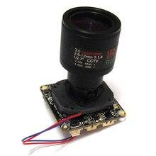 Full HD CCTV 1080P 2MP Starlight low illumination Network IP Camera Module PCB board, 2.8-12mm 3mp lens
