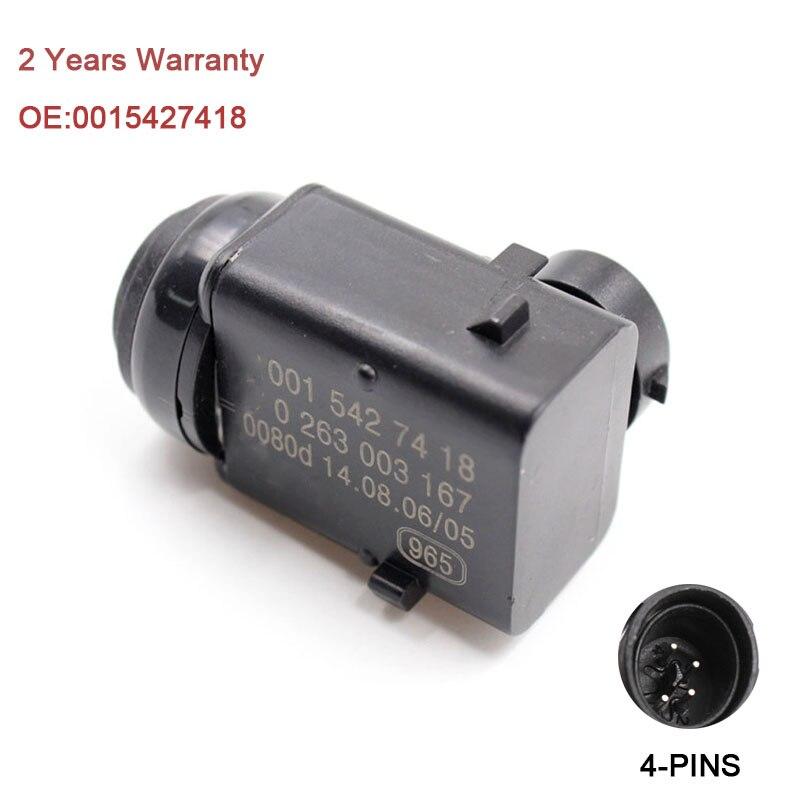 YAOPEI distancia de estacionamiento PDC Sensor 0015427418 para Mercedes W203 W209 W210 W211 W220 W163 W168 W215 W 251 S203 C203