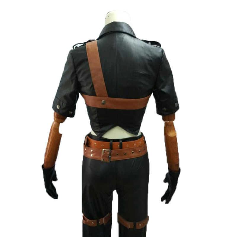 Косплей LOL Катарина костюм полный костюм на Хэллоуин кожаные костюмы любой размер 2 стиль на выбор