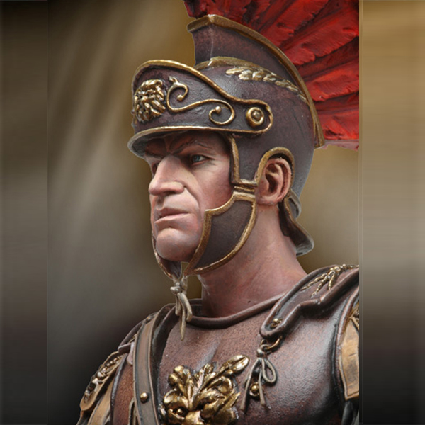 1/10 Resin Bust Figure Model Kit Guards Officer Rome Fighters Historical Unpainted  And Unassembled X73
