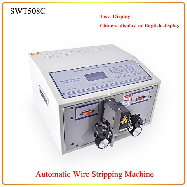 220 V SWT508C Computer Automatische Abisolieren Maschine, Draht ...