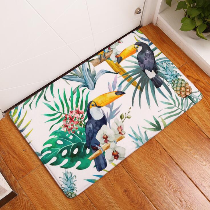 Badematte Vögel Gedruckt Wildleder Rutschfeste Duschmatte Bad Teppich  Bodenmatte 40x60 Cm Wc Teppiche Hause Dekoration Großhandel In Badematte  Vögel ...