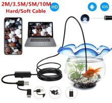 Mini Video Camera IP67 1080P Android 8MM Micro USB Type-c 3-in-1 Computer Endoscope Borescope Tube Waterproof Inspection