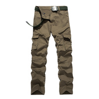 SeaSunLand Men S Multi Pockets Casual Camo Pants High Quality 100 Cotton Cargo Military Army Trousers