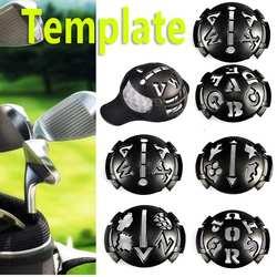 Golf ручной маркер маркировочный аппарат шаблон для рисования комплект шлангов ручка 1 x мяч для гольфа шаблон для маркировки + 6 x шаблон