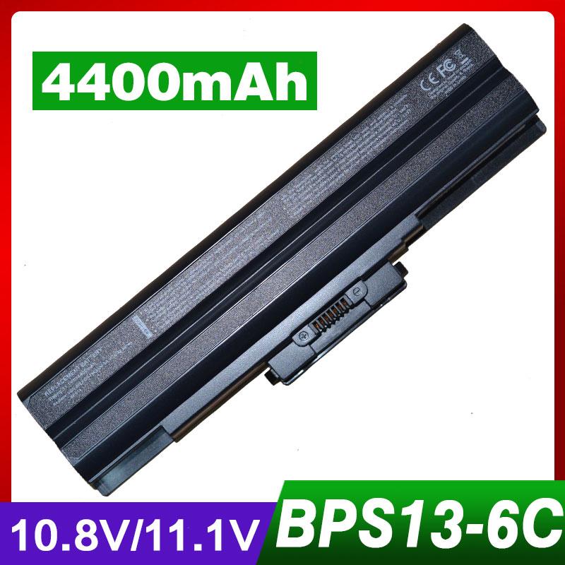 ღ ღ4400 Mah 10 8 V Batterie D Ordinateur Portable Pour Sony Vgp