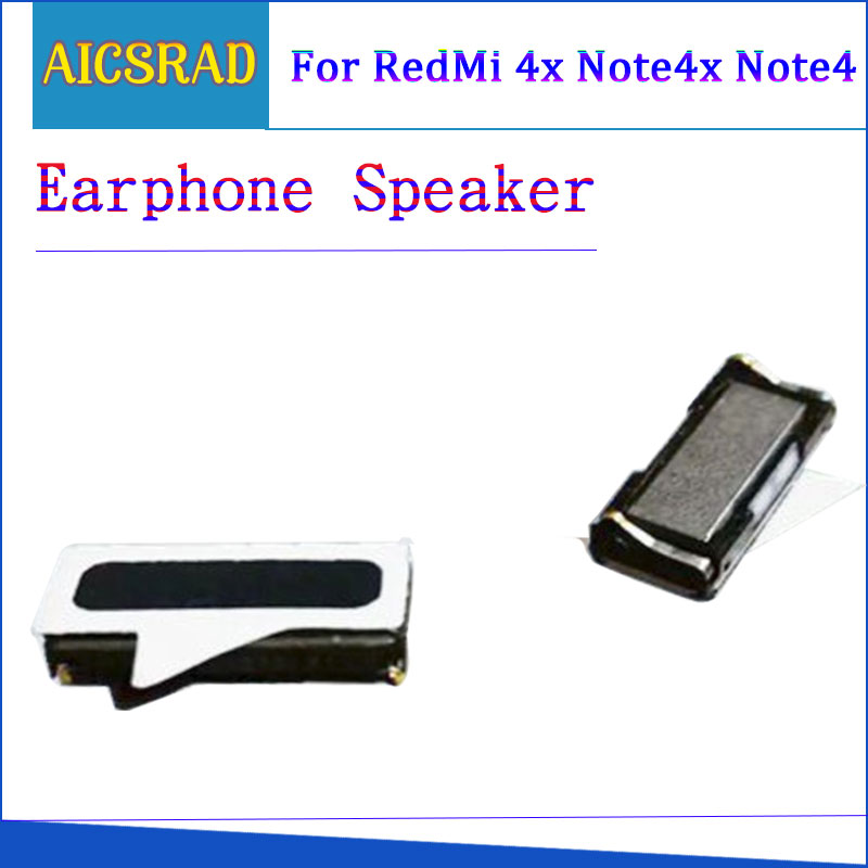 2PCS/Lot Earphone Speaker For Xiaomi Redmi 4X/Redmi Note 4x And Sutiable For Redmi Note 4 Global Version