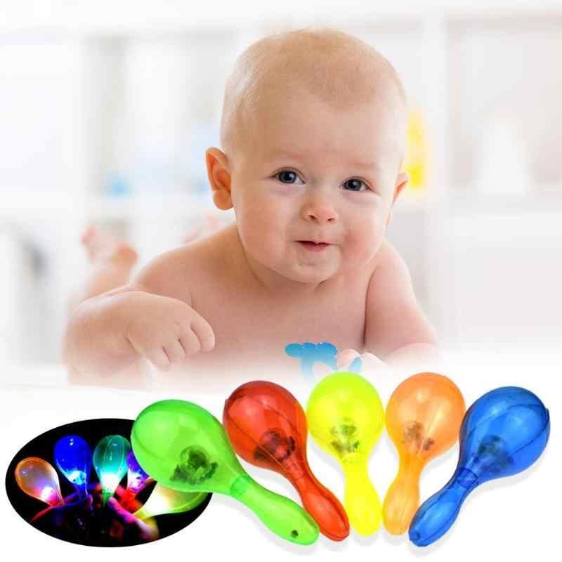 Baby Muziek Educatief Speelgoed Zand Hamer Peuter Hameren Noise Maker Game Kloppen Speelgoed Kids Rammelaars Model Geschenken Lichtgevende Speelgoed