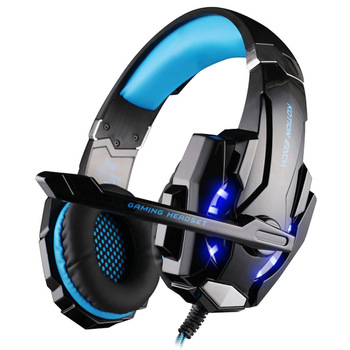 SOONHUA G9000 Headset 3.5mm Game Headphone Stereo Gaming Headsets with Swivel Microphone For Cellphone 2019