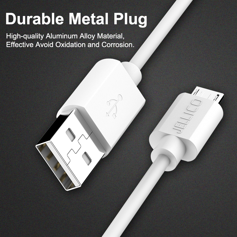 Image 5 - Jellico Micro USB Cable 2A Fast Charge USB Phone Data Cable for Samsung Xiaomi Android USB Charging Cord Microusb Charger Cable-in Mobile Phone Cables from Cellphones & Telecommunications