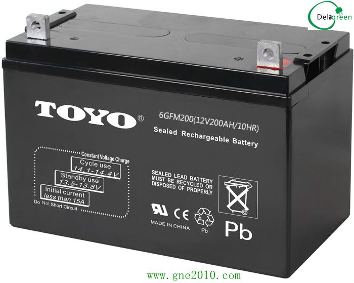 AGM battery 12V200AH for Electric vehicles/storage/UPS/back up system ...