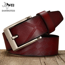 [DWTS]men belt genuine leather luxury  high quality brand genuine leat