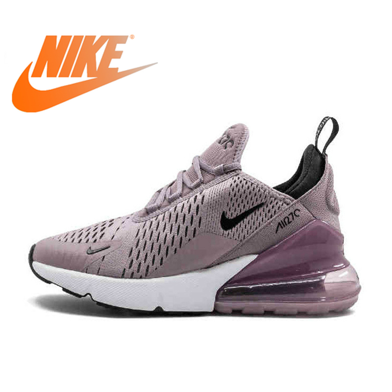 Original authentique Nike Air Max 270 chaussures de course Sport baskets de plein Air femmes Sports de plein Air Designer athlétique 2019 nouveau 943345