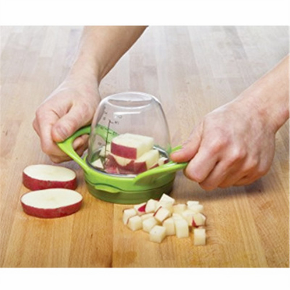 Kitchen gadgets 1pc Fruit Vegetable Tools Creative Kitchen Products Multi-function Shredder Slicer Fruit Cutter tools With scale