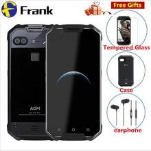 "Original AGM X2 IP68 Waterproof Mobile Phone 5.5""FHD 6GB RAM 64GB ROM 6000mAh NFC Qualcomm MSM8976SG Octa Core Dual 12MP Camera"