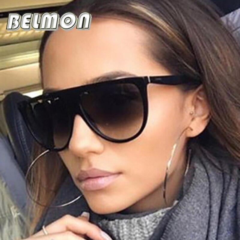 Moda Óculos De Sol Das Mulheres Designer de Marca de Luxo Senhoras Do Vintage Óculos de Sol UV400 Para Feminino Shades RS020