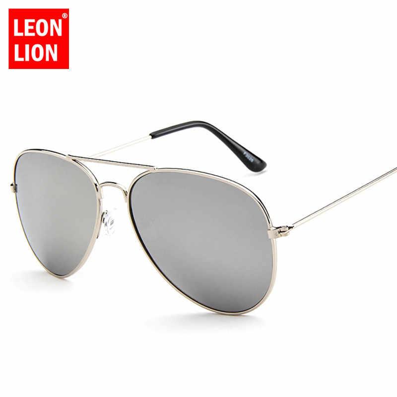 ليون لايون 2020 الطيار مرآة النظارات الشمسية النساء/الرجال العلامة التجارية مصمم نظارات شمسية فاخرة النساء خمر القيادة في الهواء الطلق Oculos دي سول