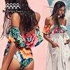 New Bikinis Floral Bikini Set Sexy Padded Bandage Swimming Suit Women Bathing Suit Strap Push Yellow