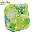 Ohbabyka fraldas de pano do bebê fraldas reutilizáveis bebê fraldas laváveis fraldas infantis macio cobre ajustável inverno versão de verão