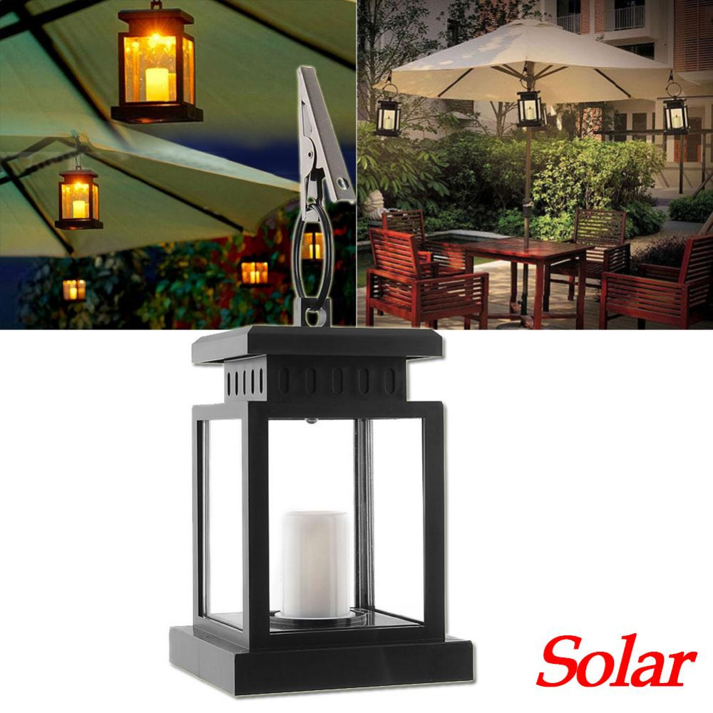 Led Solar Ed Garden Light Lamp Outdoor Candle Lantern Landscape Umbrella Tree Hang Bulbs Lampe Solaire In Lamps From Lights