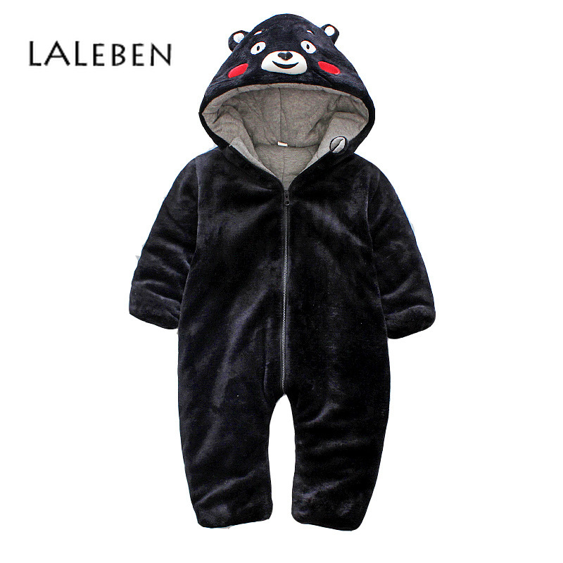 Laleben 2018 Winter Baby Rompers Hooded Cartoon Long Sleeve Cotton Baby Jumpsuit Keep Warm Unisex Toddler Girl Winter ClothesLaleben 2018 Winter Baby Rompers Hooded Cartoon Long Sleeve Cotton Baby Jumpsuit Keep Warm Unisex Toddler Girl Winter Clothes