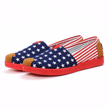 LISM 2018 spring and summer new womens shoes old Beijing canvas low flat comfort breathable deodorant
