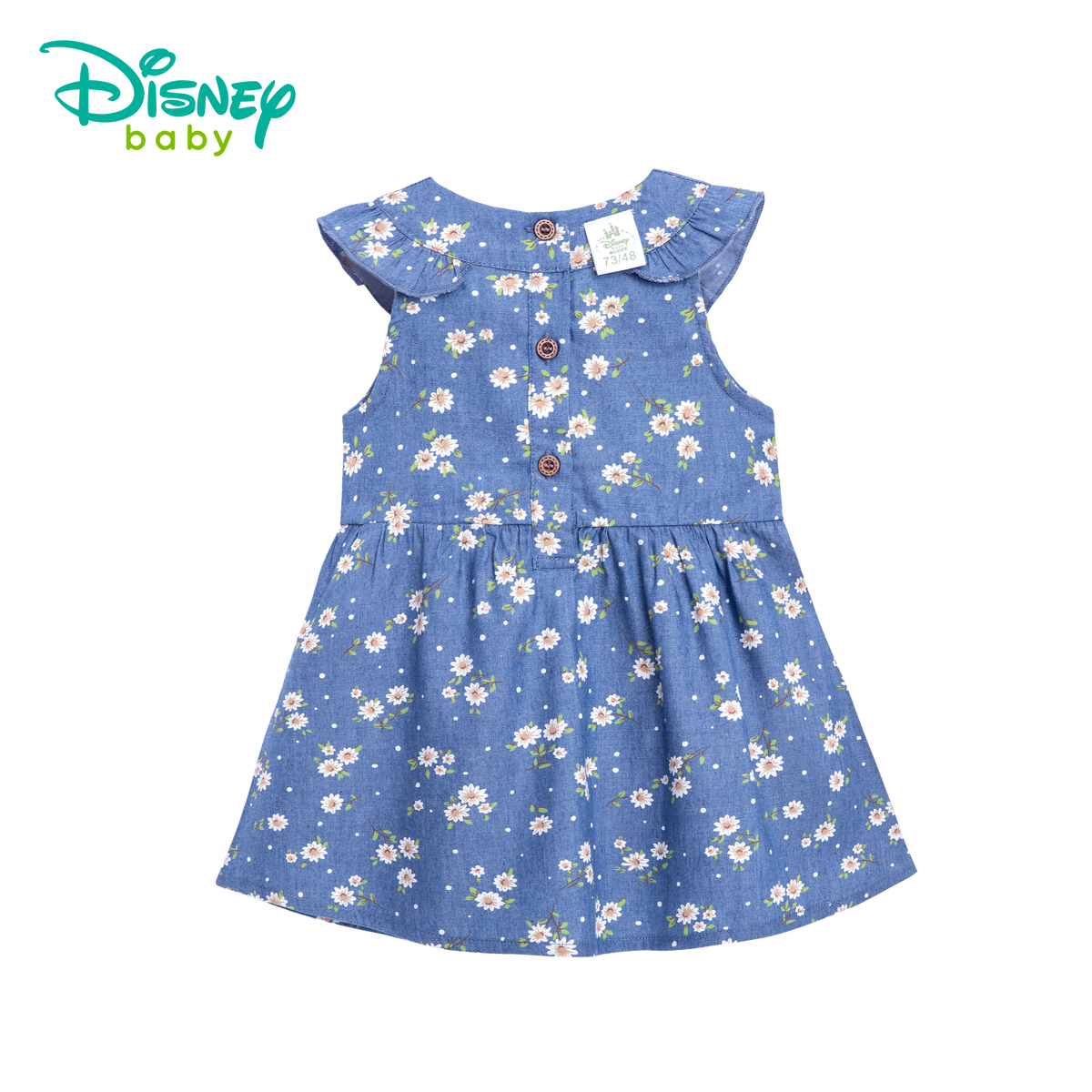 Disney 2018 New Cotton Girl Dress Kids Summer Children Clothes Princess Korean Cute Thin Cowboy Flounce Dress Size 66-120 ricom вешалка для одежды ricom 1925s ybui r wp