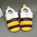 Fashion Cartoon Animals Baby First Walkers High Grade Genuine Leather Baby Shoes Sheepskin Waterproof PVC Infants Prewalker