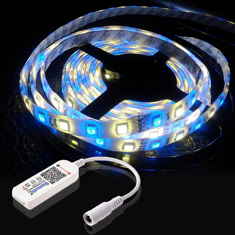 Lighting Accessories Generous Dc12v Led Mini Bluetooth Led Strip Light Controller Ios/android Mobile Phone Wireless Led Rgb/rgbw Controller For Led Strip Activating Blood Circulation And Strengthening Sinews And Bones