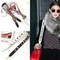 Women's Fashion Brand Design Bag Strap Save You Bag Replacement Bag Belt Flower Rivet Bag Accessories