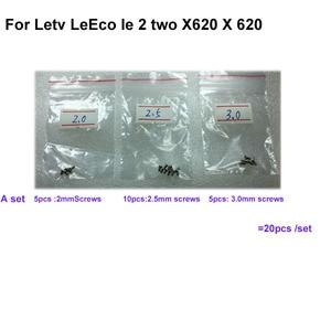 20 stks/set Voor Letv LeEco le 2 twee X620 X 620 Schroef nail tack op het Moederbord moederbord reparatie onderdelen voor Letv le2(China)