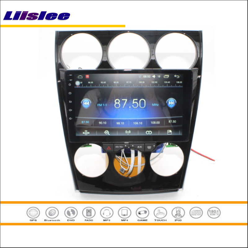 Liislee For Mazda 6 Mazda6 2002~2008 Car Android GPS Navigation Stere Radio HD Touch Screen Bluetooth Multimedia System NO DVD