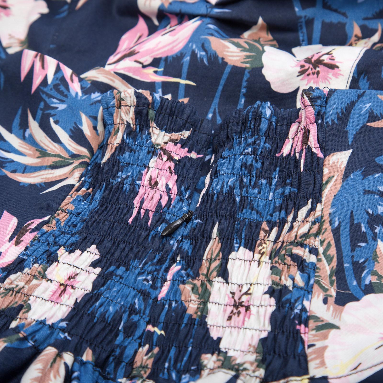Robe de Cocktail Party Swing avec ceinture col Halter décolleté en V à pois imprimé Floral longueur genoux ceinture amovible